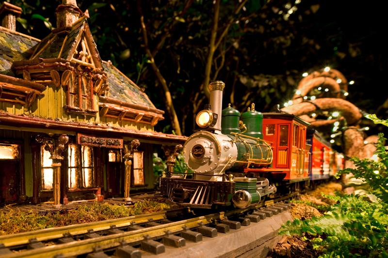Holiday train show New York 9