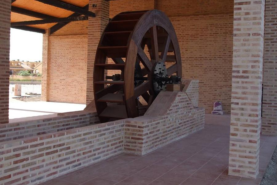 roda hidraulica penya