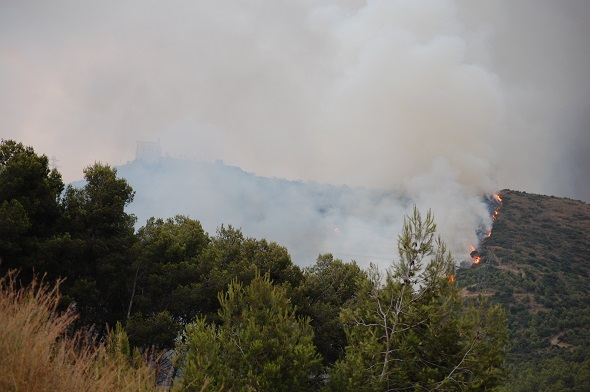 1.Incendi a Sant Ramon  Viladecans