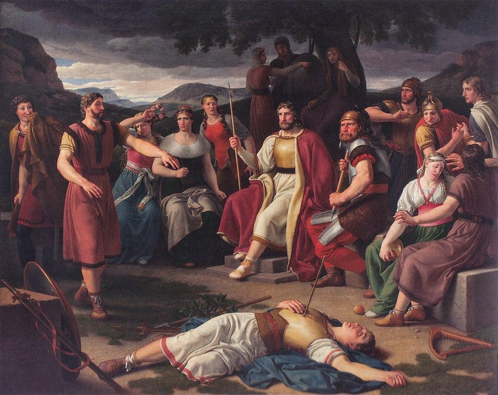 1024px Baldr dead by Eckersberg