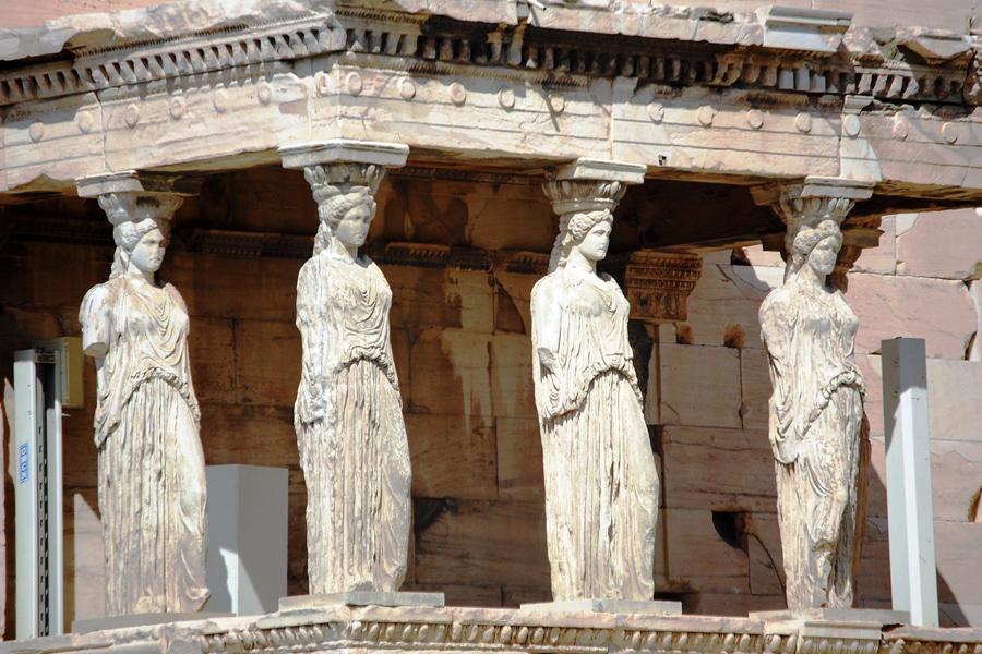 templo atenea columnas