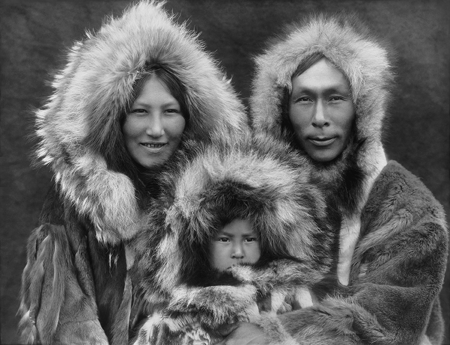 Inupiat family curtis