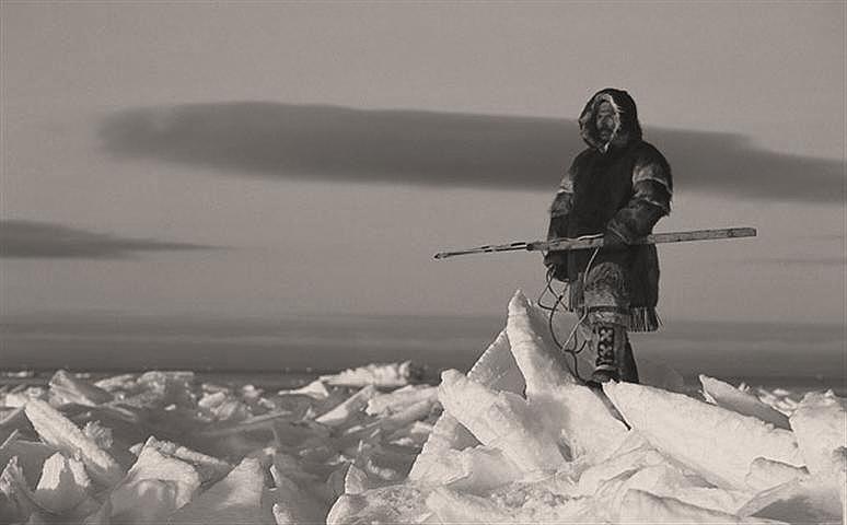 cazador inuit