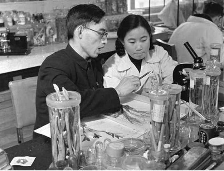 Tu Youyou in 1950s wikimedia3