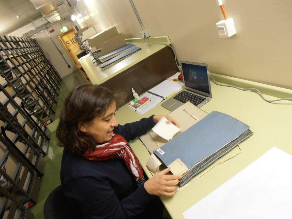 Ana Juan, botànica