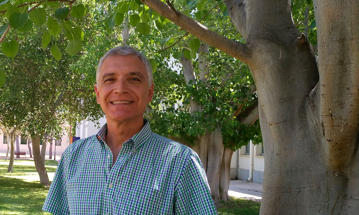 Manuel B. Crespo. Universitat d'Alacant, 2019. / Carolina Pena.